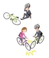 自転車事故(転倒、自転車同士)