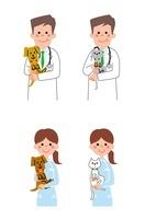 動物病院の医師、看護師