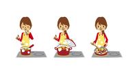 主婦料理(味見、煮込み、炒め/IHヒーター)