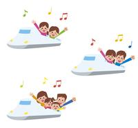 新幹線旅行アイコン3パターン 10423000864| 写真素材・ストックフォト・画像・イラスト素材|アマナイメージズ