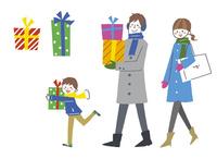 クリスマス・家族