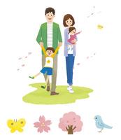 家族(春)・春アイコン