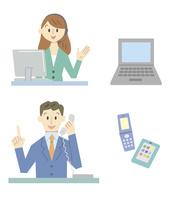 ナビゲーター(男女)・PC・携帯電話・スマートフォン