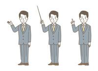 男性 案内3パターン