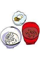 ごはんと味噌汁と漬物 10424000025| 写真素材・ストックフォト・画像・イラスト素材|アマナイメージズ