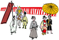 時代祭 10424000033| 写真素材・ストックフォト・画像・イラスト素材|アマナイメージズ