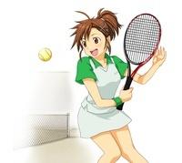 女子高校生一人 部活動 テニス部 10425000009| 写真素材・ストックフォト・画像・イラスト素材|アマナイメージズ