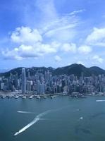 スカイ100の100階から見た香港島のビル街 10430000552| 写真素材・ストックフォト・画像・イラスト素材|アマナイメージズ