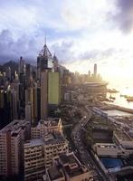 香港島のビル街