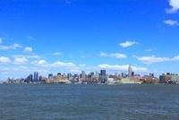 ハドソン川とマンハッタン