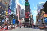 昼さがりのタイムズスクエア 10430003696| 写真素材・ストックフォト・画像・イラスト素材|アマナイメージズ