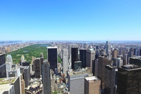 ロックフェラーセンターより望むニューヨーク市街