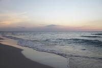 バラデロビーチの夕景