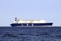 LNG船 10430008010  写真素材・ストックフォト・画像・イラスト素材 アマナイメージズ