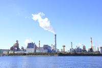 京浜工業地帯 10430008589| 写真素材・ストックフォト・画像・イラスト素材|アマナイメージズ