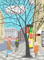 パリの街並み 10434000006| 写真素材・ストックフォト・画像・イラスト素材|アマナイメージズ