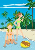 夏の海辺 10434000008| 写真素材・ストックフォト・画像・イラスト素材|アマナイメージズ