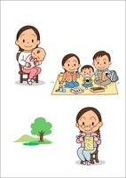 女の子の成長 出産・老年期 10440000005| 写真素材・ストックフォト・画像・イラスト素材|アマナイメージズ