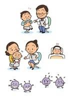 保険・医療 小児科診察と症状 10440000015| 写真素材・ストックフォト・画像・イラスト素材|アマナイメージズ