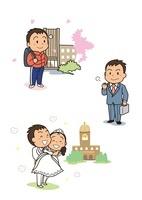 男の子の成長 就職から結婚