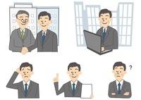 ビジネス 商談 男性 10447000006| 写真素材・ストックフォト・画像・イラスト素材|アマナイメージズ