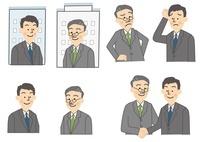 ビジネス 商談 男性 10447000009| 写真素材・ストックフォト・画像・イラスト素材|アマナイメージズ