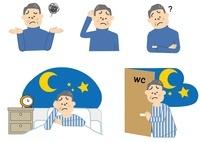 不眠 頻尿 中年男性