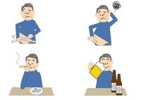 メタボリック 飲酒 喫煙 中年男性