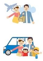 家族旅行 10447000090| 写真素材・ストックフォト・画像・イラスト素材|アマナイメージズ