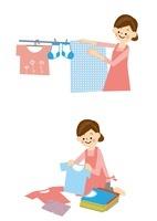 家事 洗濯 10447000094| 写真素材・ストックフォト・画像・イラスト素材|アマナイメージズ