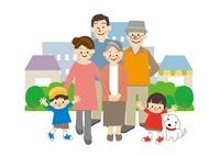 家族 10447000115| 写真素材・ストックフォト・画像・イラスト素材|アマナイメージズ