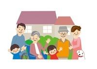 介護高齢者家族