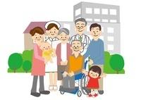 介護高齢者 10447000131| 写真素材・ストックフォト・画像・イラスト素材|アマナイメージズ