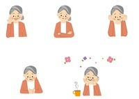 高齢者 おばあさん 10447000148| 写真素材・ストックフォト・画像・イラスト素材|アマナイメージズ