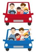 家族 ドライブ 車 10447000170| 写真素材・ストックフォト・画像・イラスト素材|アマナイメージズ