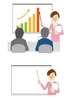 ビジネス 会議 プレゼン 女性 10447000274| 写真素材・ストックフォト・画像・イラスト素材|アマナイメージズ