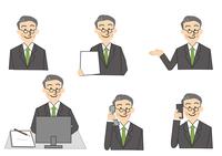ビジネス 中年男性 10447000281| 写真素材・ストックフォト・画像・イラスト素材|アマナイメージズ