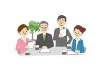 ビジネス 会議 男性 女性 10447000283| 写真素材・ストックフォト・画像・イラスト素材|アマナイメージズ