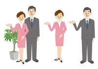 ビジネス 男性 女性 OL 事務