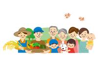 農業 男性と女性 食の安全 10447000325| 写真素材・ストックフォト・画像・イラスト素材|アマナイメージズ