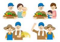 農業 男性と女性 食の安全 10447000329| 写真素材・ストックフォト・画像・イラスト素材|アマナイメージズ