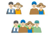 農業 男性と女性  10447000330| 写真素材・ストックフォト・画像・イラスト素材|アマナイメージズ