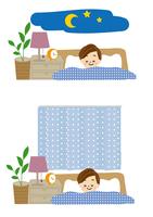 就寝 女性 10447000342| 写真素材・ストックフォト・画像・イラスト素材|アマナイメージズ