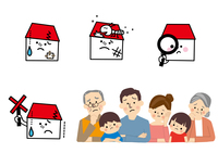 家と家族 リフォーム 10447000449| 写真素材・ストックフォト・画像・イラスト素材|アマナイメージズ