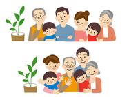 家族 ファミリー  10447000457| 写真素材・ストックフォト・画像・イラスト素材|アマナイメージズ