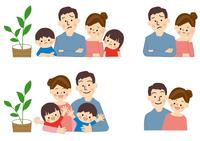 家族 ファミリー  10447000458| 写真素材・ストックフォト・画像・イラスト素材|アマナイメージズ