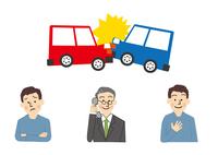 車と事故 自動車保険 10447000484| 写真素材・ストックフォト・画像・イラスト素材|アマナイメージズ