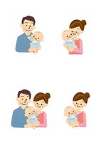若い夫婦と赤ちゃん 10447000498| 写真素材・ストックフォト・画像・イラスト素材|アマナイメージズ