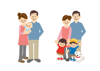 家族と成長 10447000506| 写真素材・ストックフォト・画像・イラスト素材|アマナイメージズ
