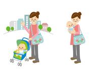 赤ちゃんとお母さん 10447000508| 写真素材・ストックフォト・画像・イラスト素材|アマナイメージズ